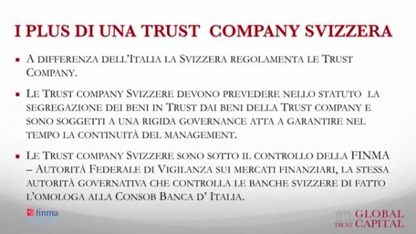 Plus di una trust company svizzera