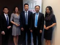 Global Capital Trust incontra Liu Song