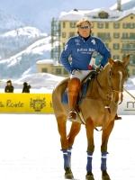 Marco Zoppi capitano della squadra di Polo Julius Baer